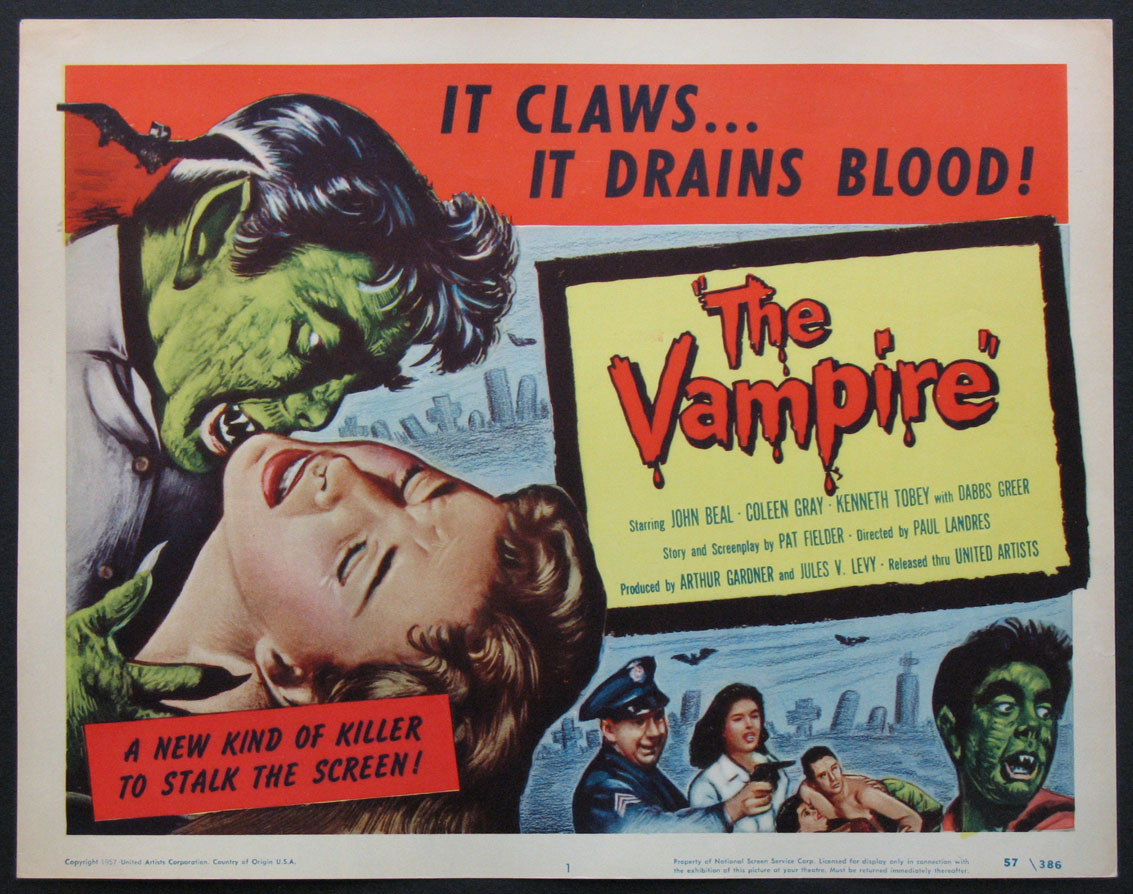 VAMPIRE, THE (The Vampire) @ FilmPosters.com