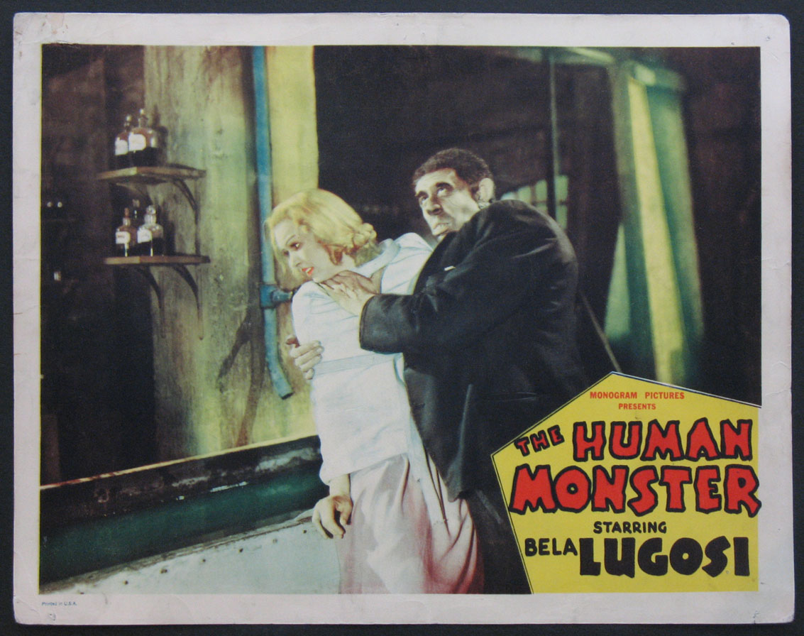 HUMAN MONSTER, THE @ FilmPosters.com