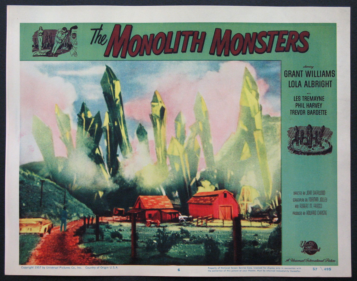 MONOLITH MONSTERS @ FilmPosters.com