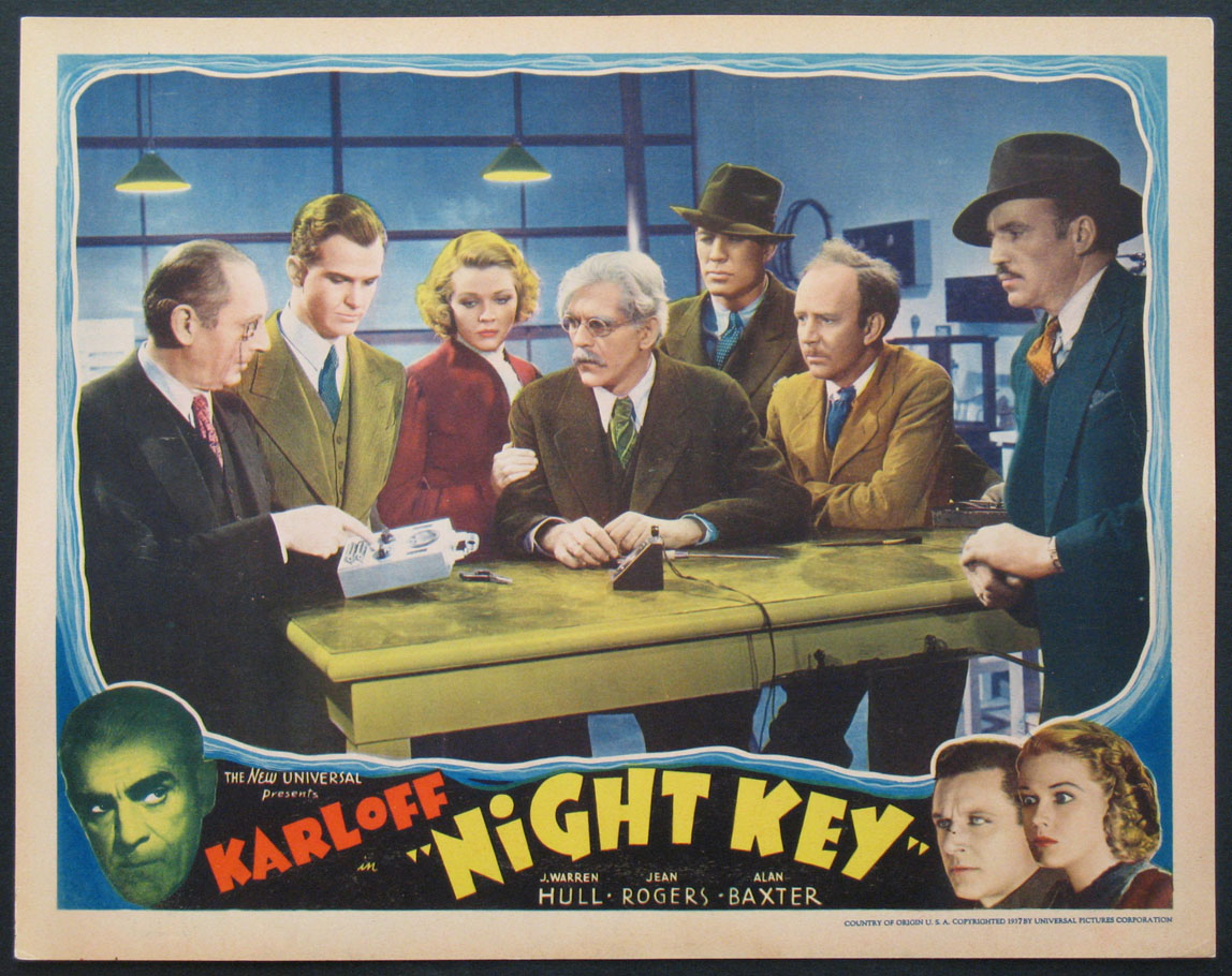 NIGHT KEY @ FilmPosters.com
