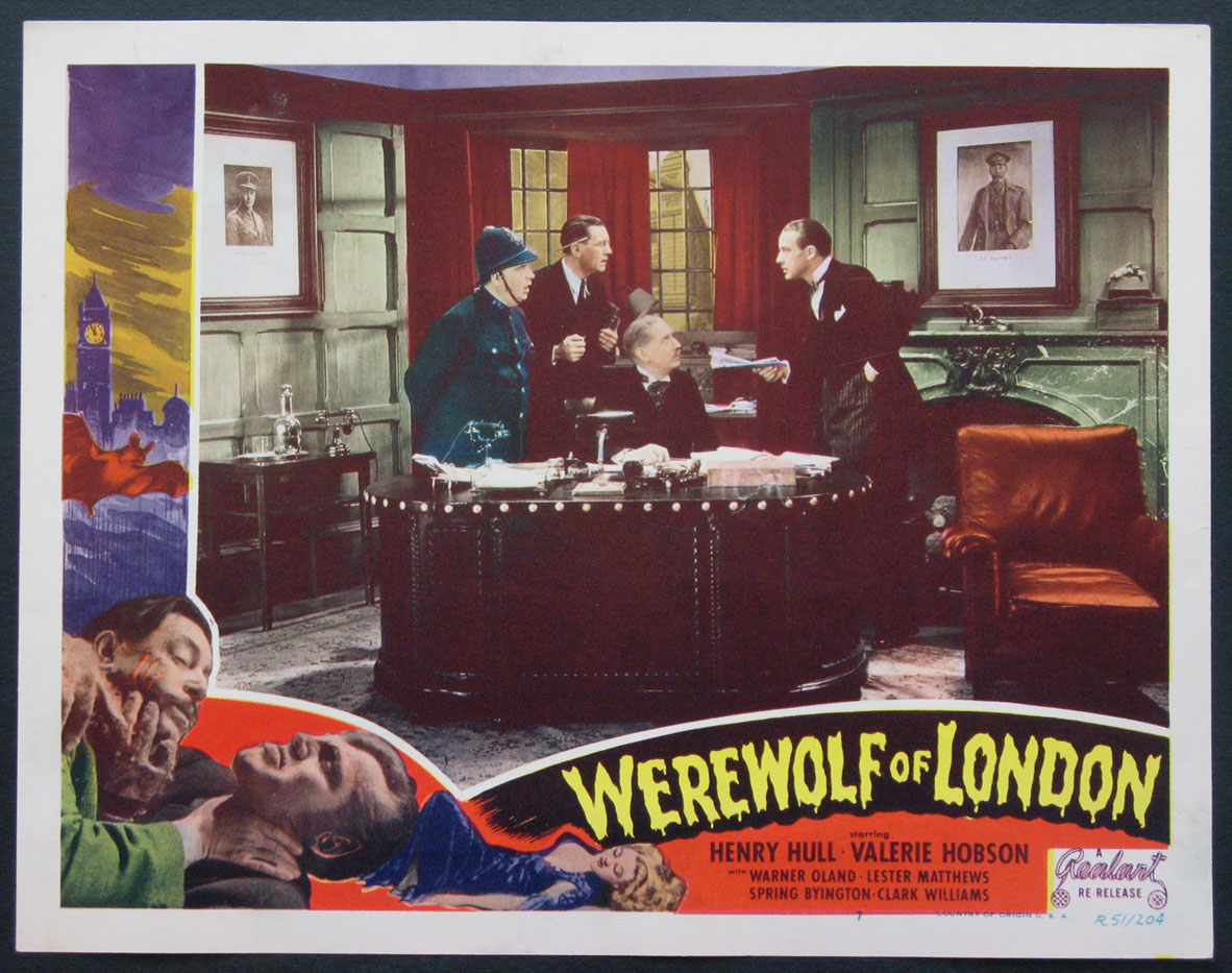 WEREWOLF OF LONDON @ FilmPosters.com