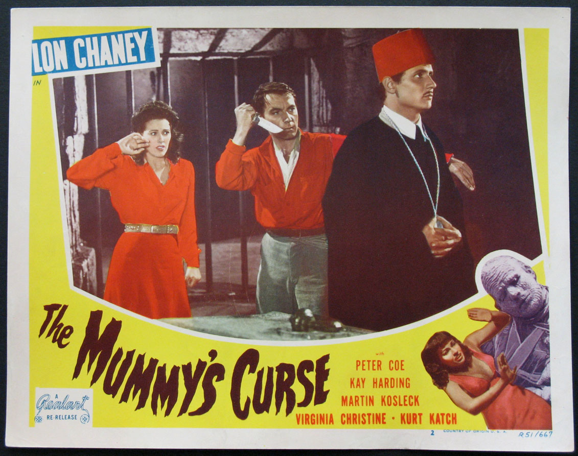 MUMMY'S CURSE, THE @ FilmPosters.com