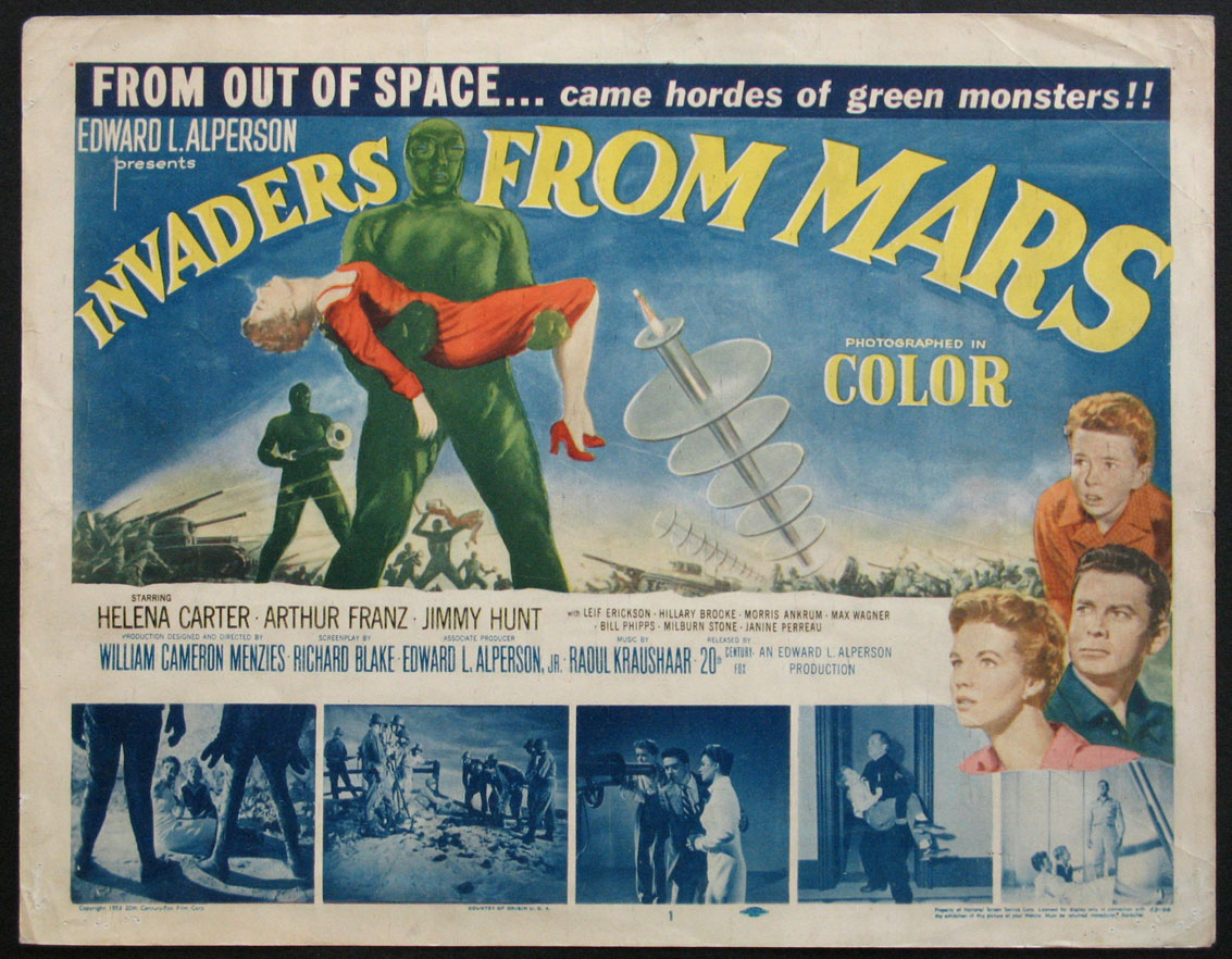 INVADERS FROM MARS @ FilmPosters.com