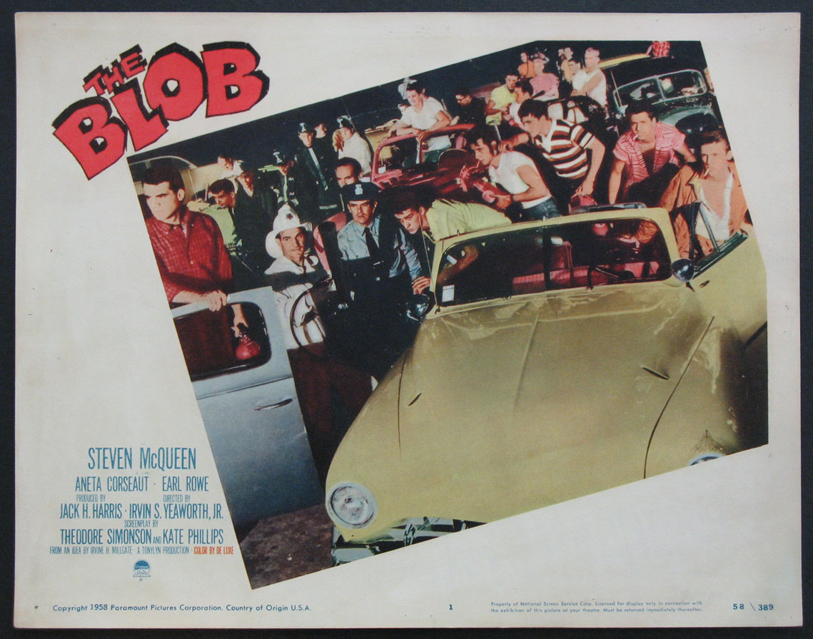 BLOB, THE @ FilmPosters.com
