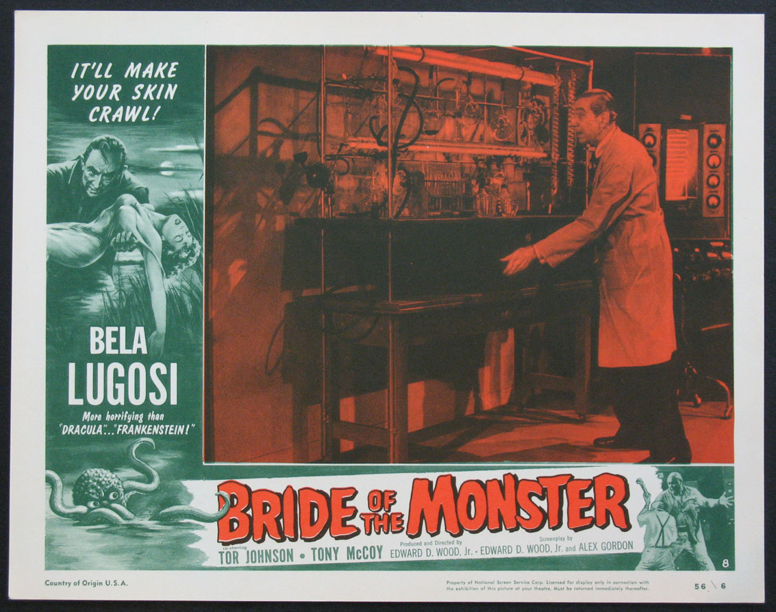 BRIDE OF THE MONSTER @ FilmPosters.com