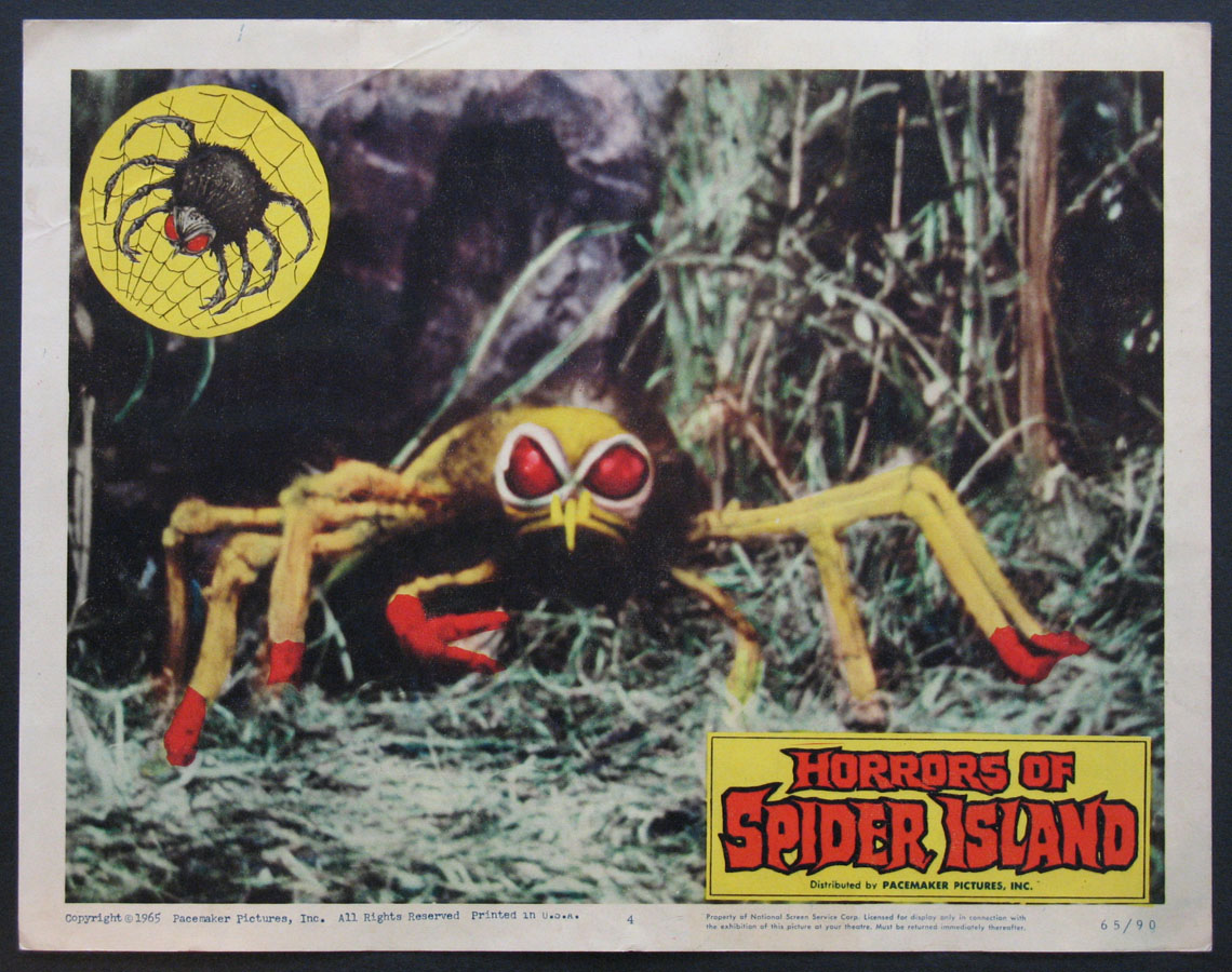 HORRORS OF SPIDER ISLAND @ FilmPosters.com