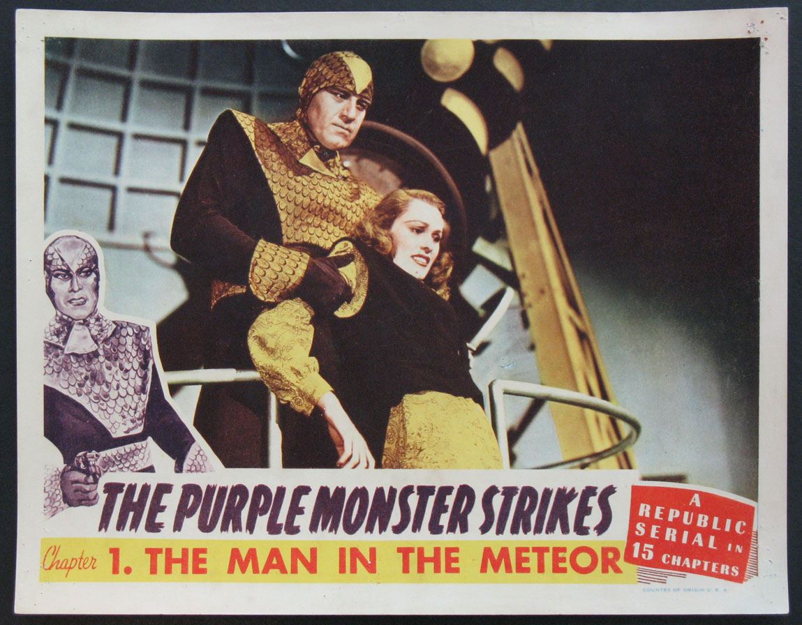 PURPLE MONSTER STRIKES, THE @ FilmPosters.com