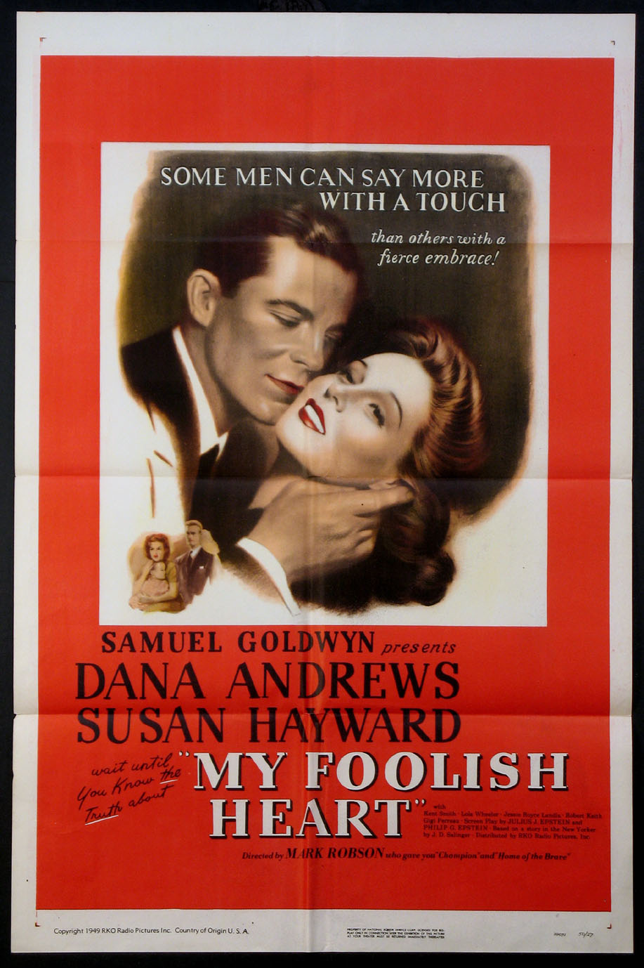 MY FOOLISH HEART @ FilmPosters.com