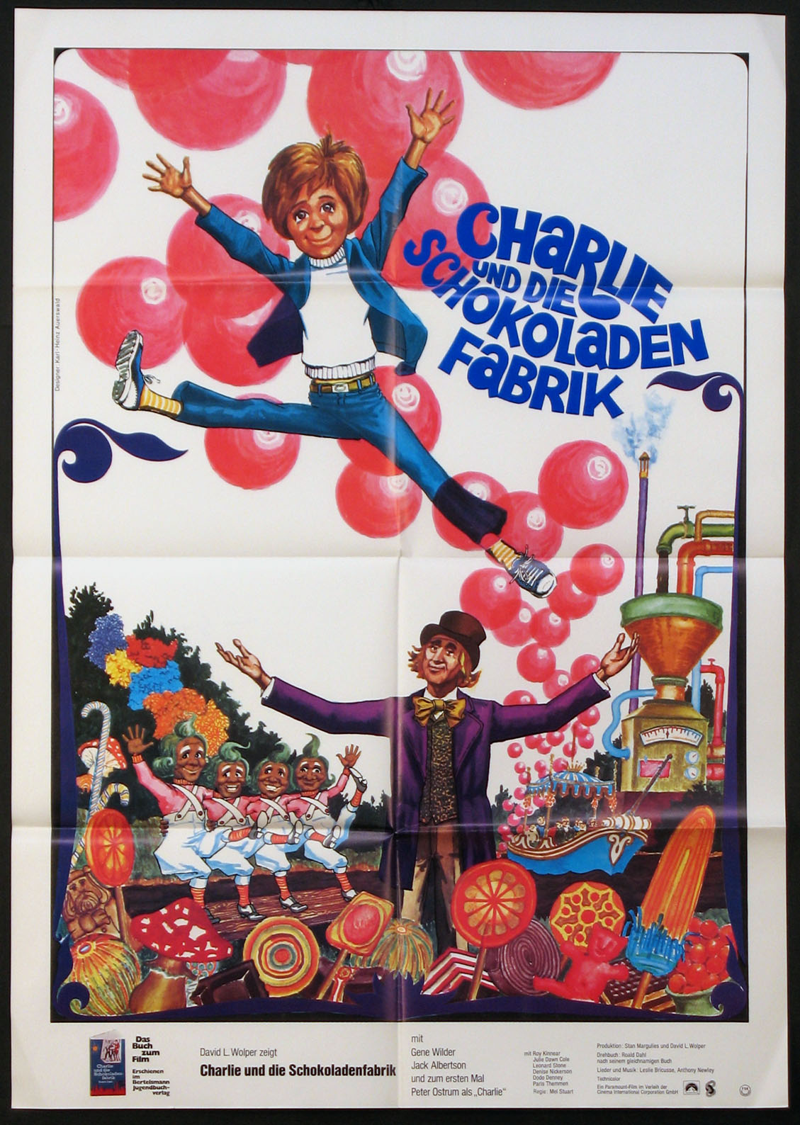 WILLY WONKA AND THE CHOCOLATE FACTORY (WILLY WONKA & THE CHOCOLATE FACTORY) @ FilmPosters.com