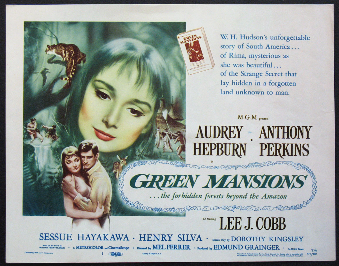 GREEN MANSIONS @ FilmPosters.com