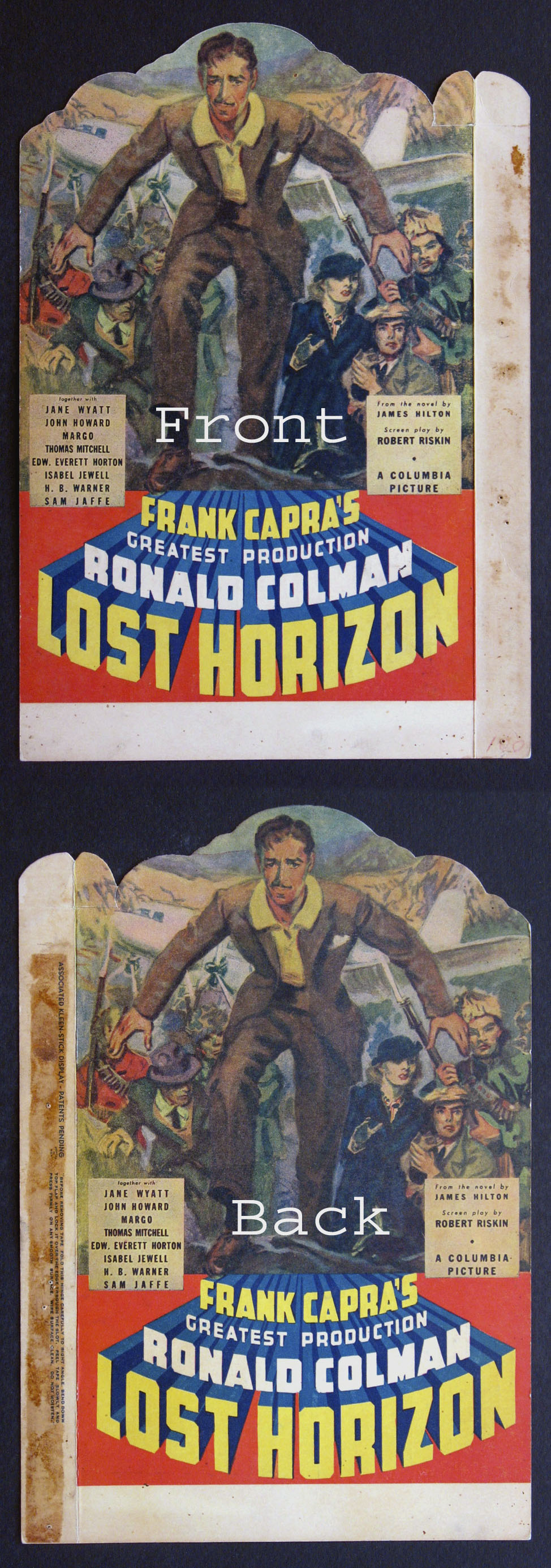 LOST HORIZON @ FilmPosters.com