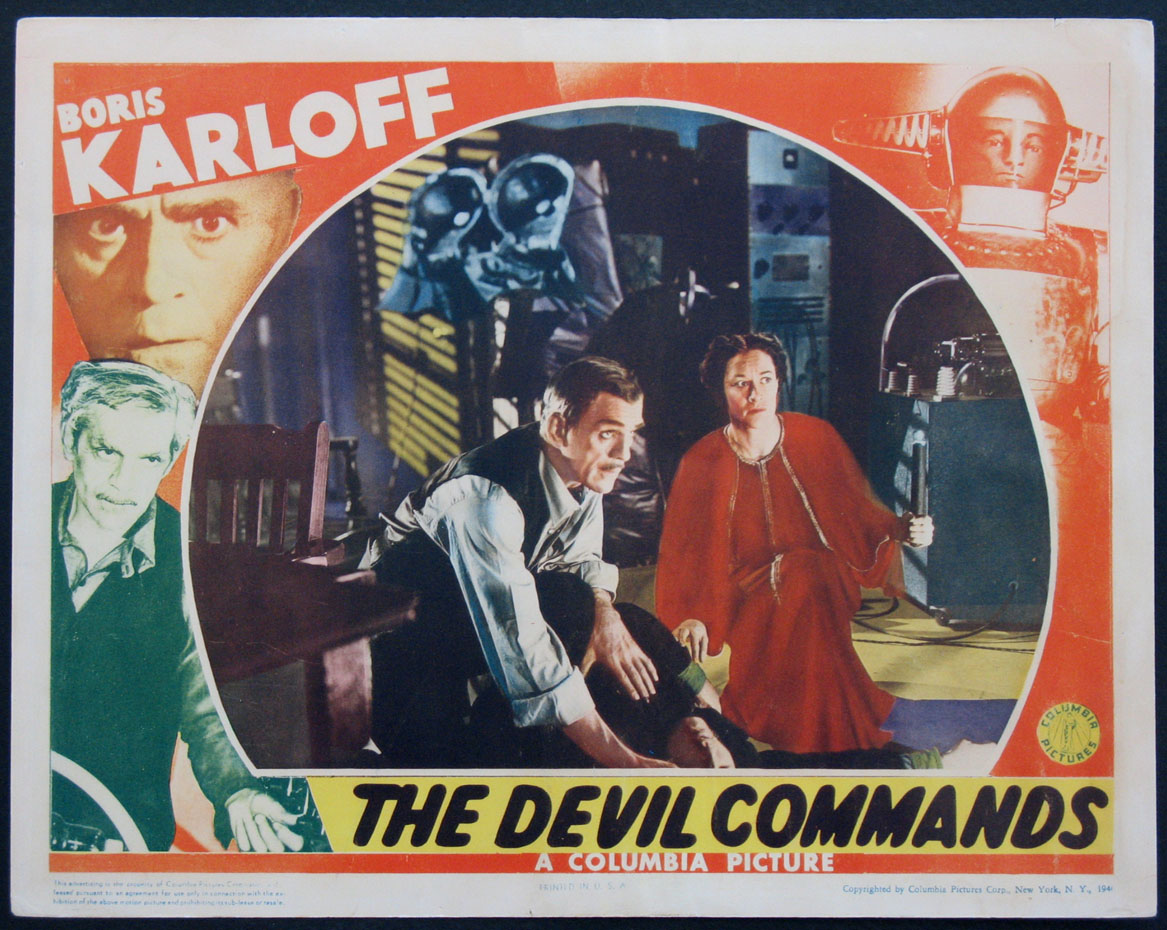DEVIL COMMANDS, THE @ FilmPosters.com