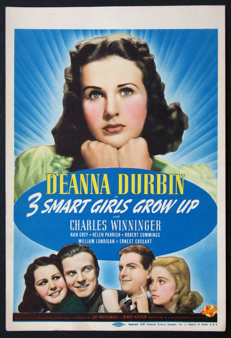 THREE SMART GIRLS GROW UP (3 Smart Girls Grow Up) @ FilmPosters.com
