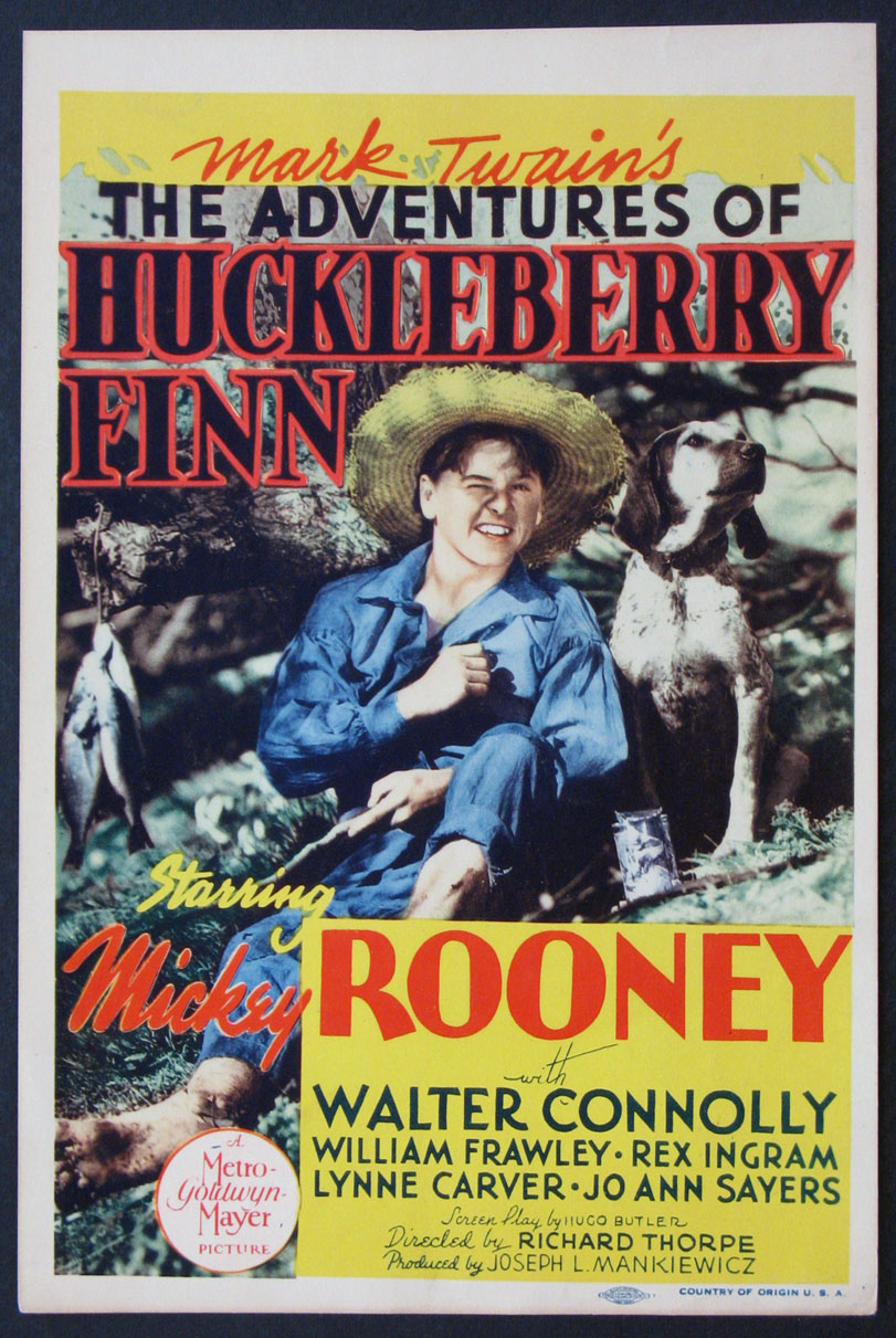 ADVENTURES OF HUCKLEBERRY FINN @ FilmPosters.com