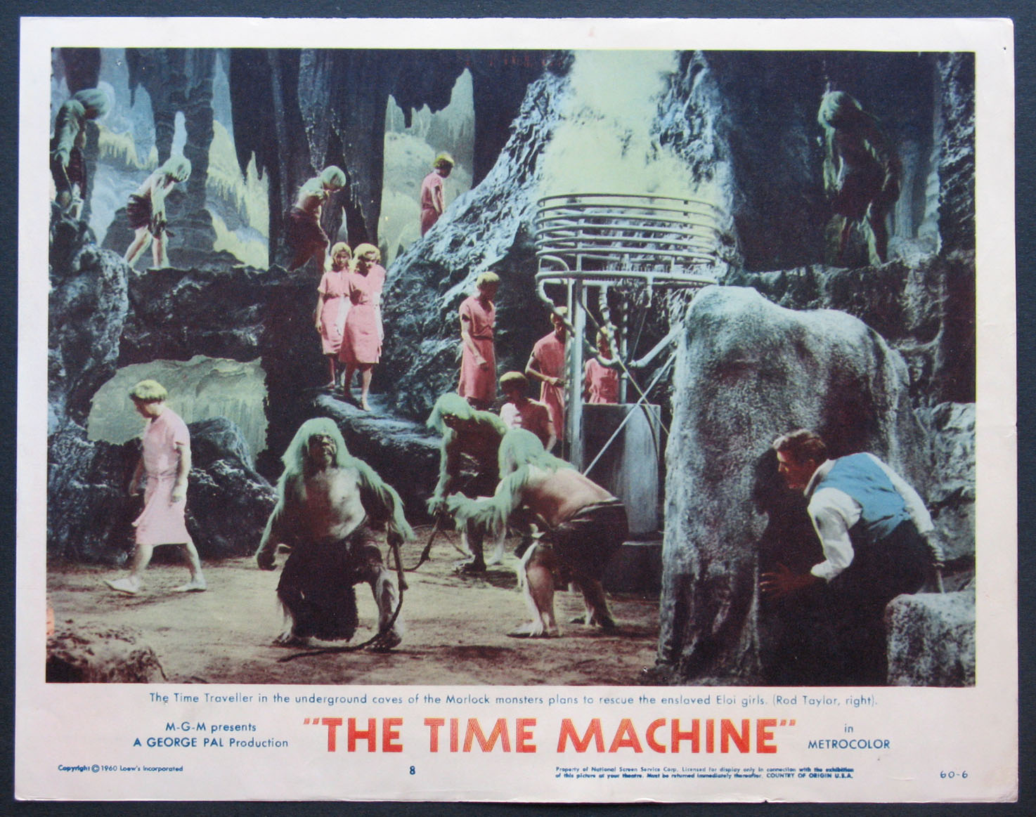 TIME MACHINE, THE @ FilmPosters.com
