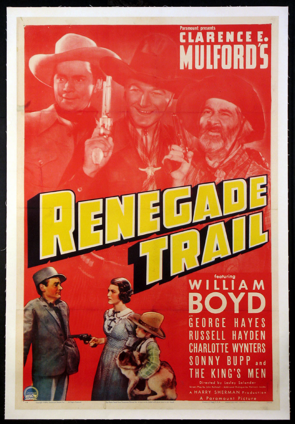 RENEGADE TRAIL, THE @ FilmPosters.com