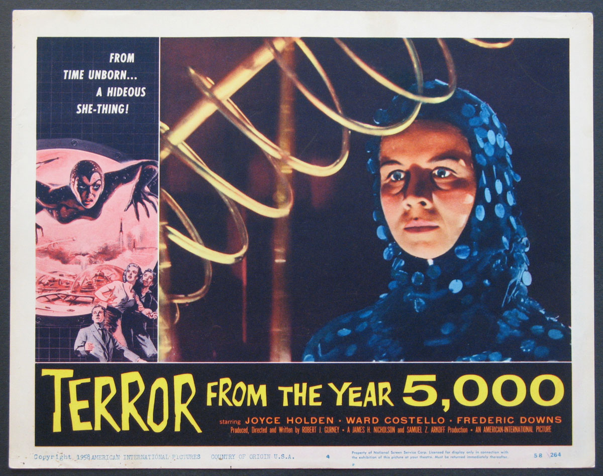 TERROR FROM THE YEAR 5000 @ FilmPosters.com