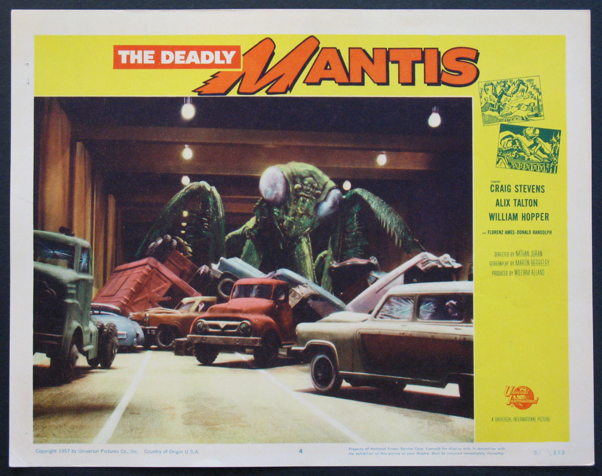DEADLY MANTIS, THE @ FilmPosters.com