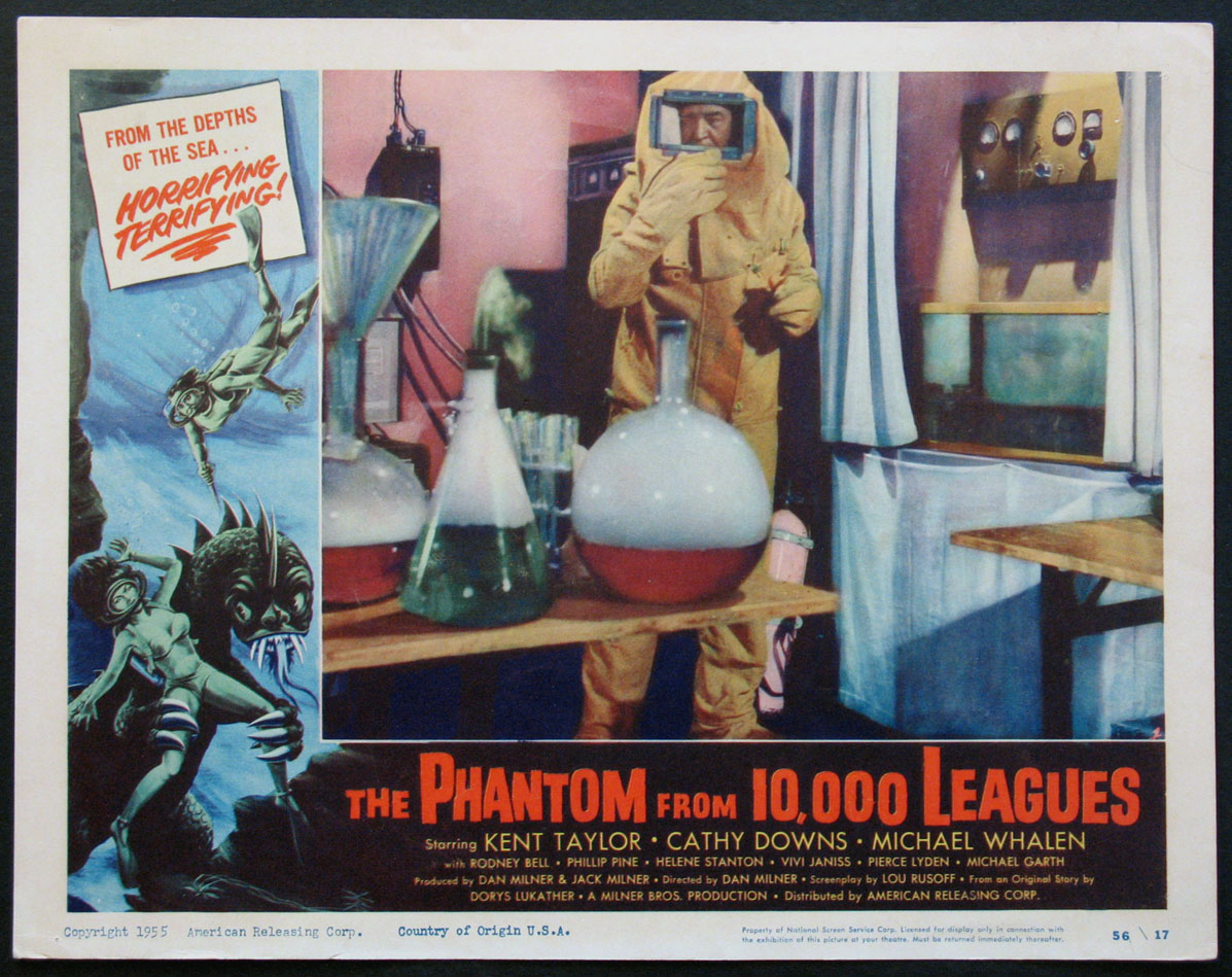 PHANTOM FROM 10,000 LEAGUES, THE @ FilmPosters.com