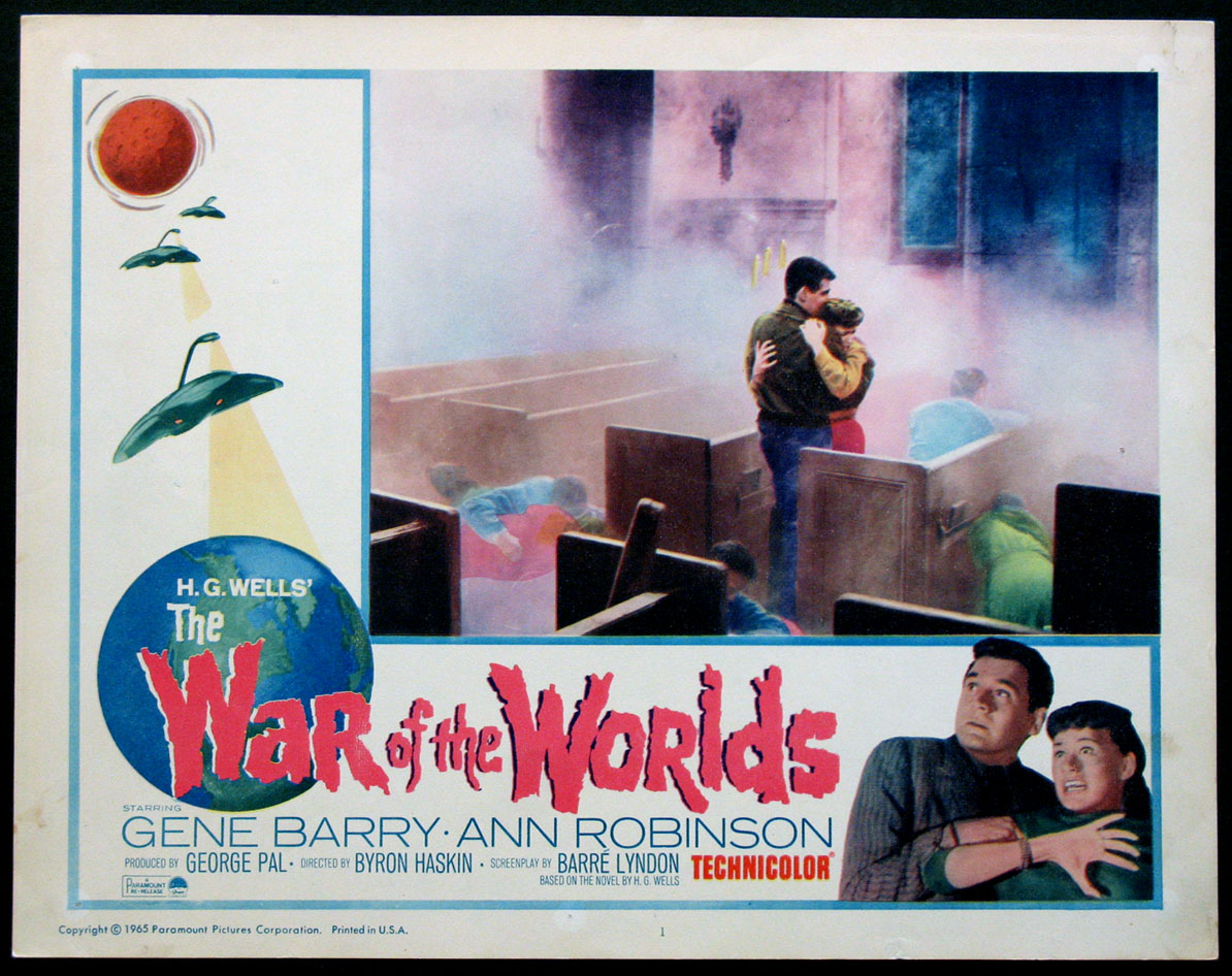 WAR OF THE WORLDS @ FilmPosters.com