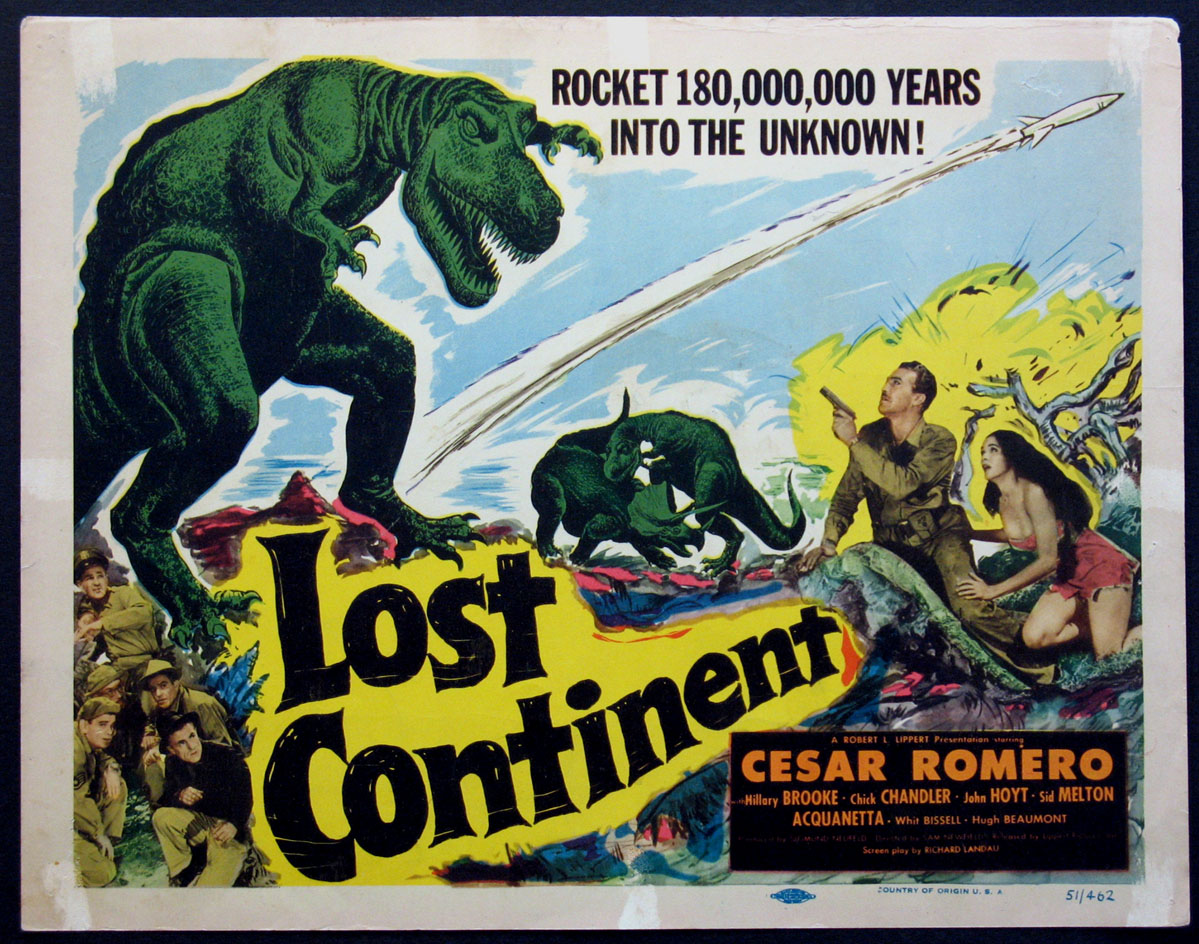 LOST CONTINENT @ FilmPosters.com