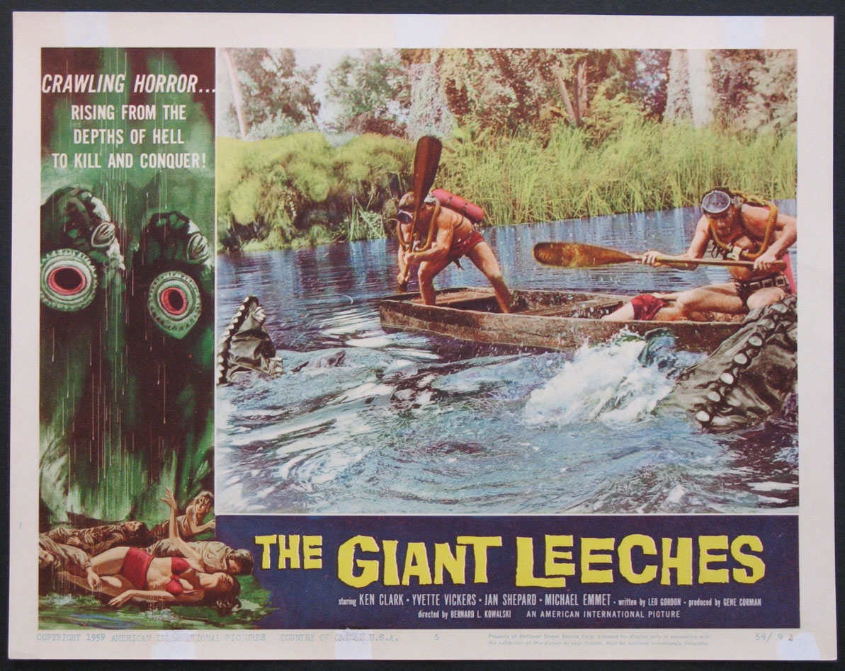 GIANT LEECHES, THE @ FilmPosters.com