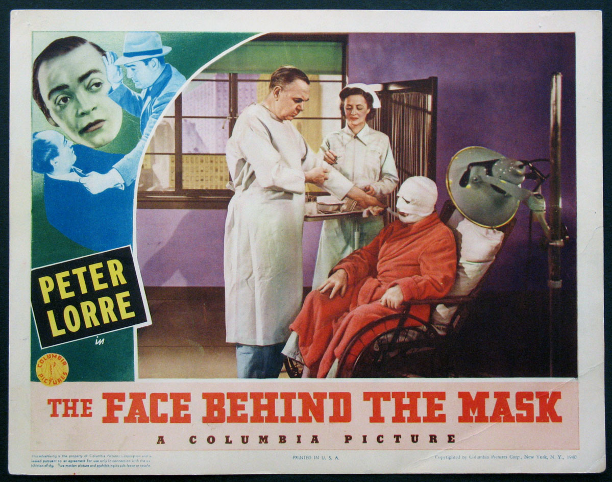 FACE BEHIND THE MASK @ FilmPosters.com