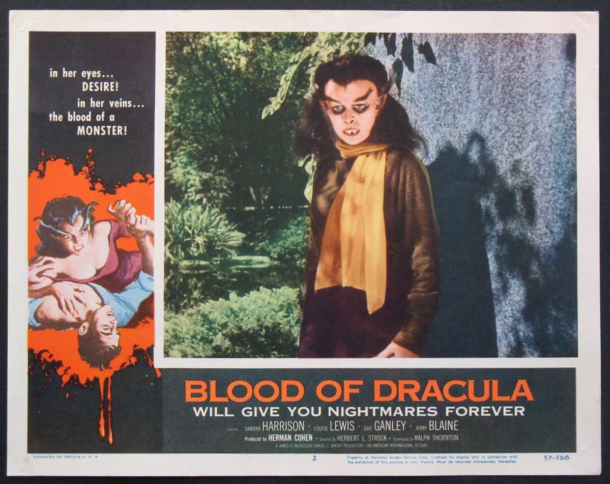 BLOOD OF DRACULA @ FilmPosters.com