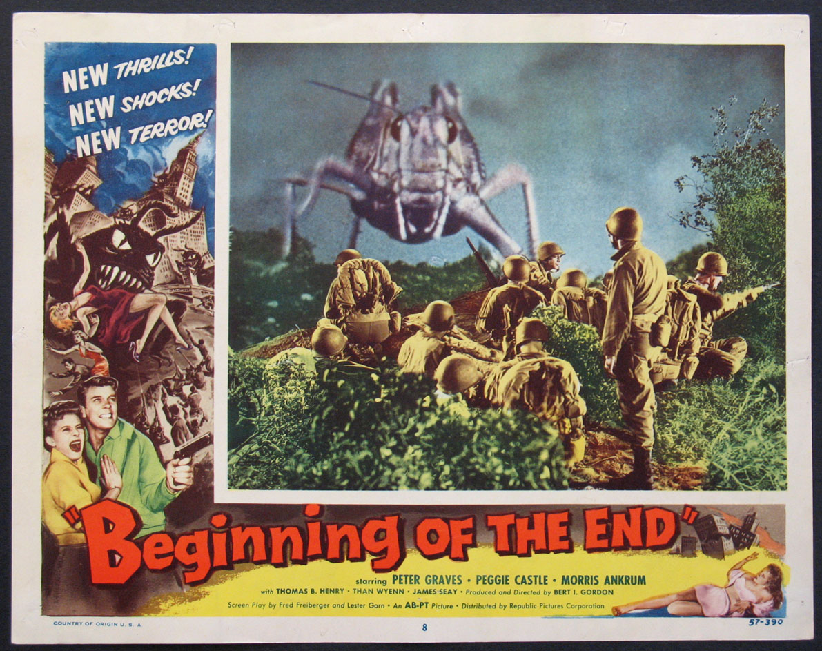 BEGINNING OF THE END @ FilmPosters.com