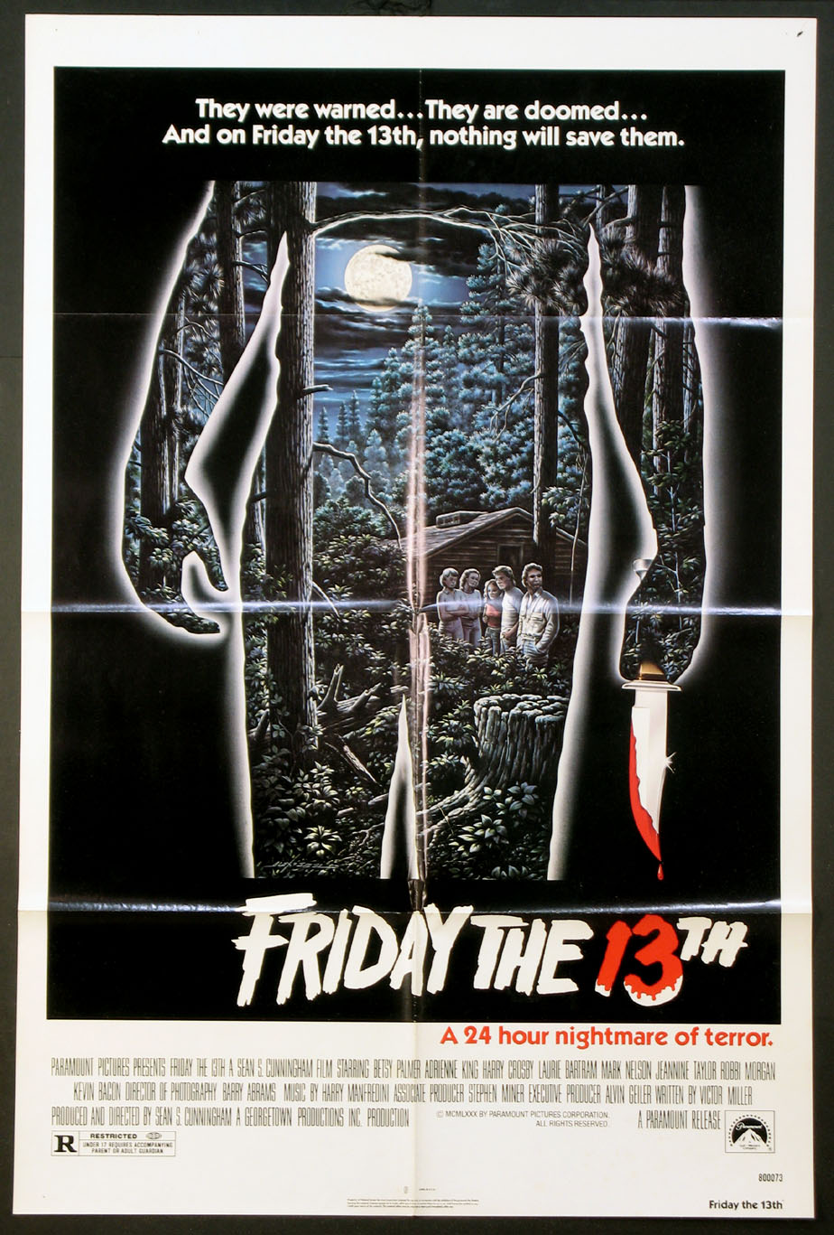 FRIDAY THE 13TH (Thirteenth) @ FilmPosters.com