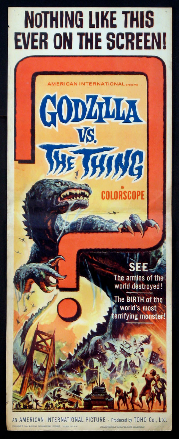 GODZILLA VS. THE THING @ FilmPosters.com