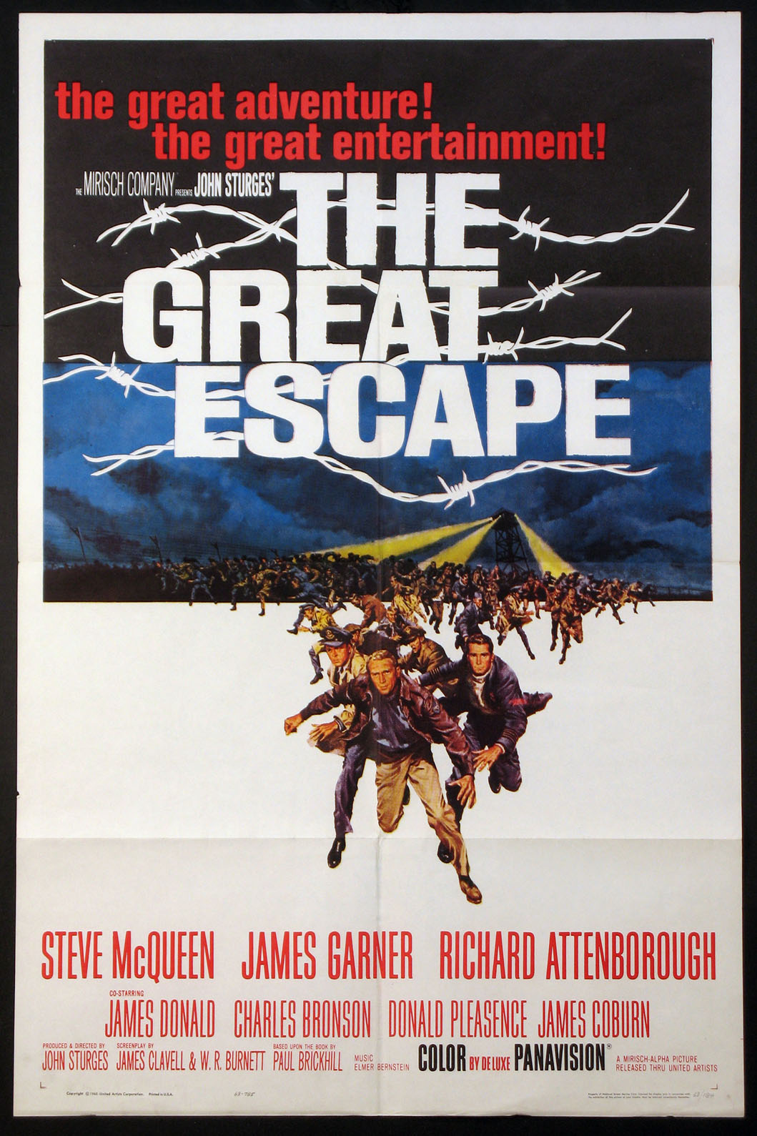 GREAT ESCAPE, THE (The Great Escape) @ FilmPosters.com