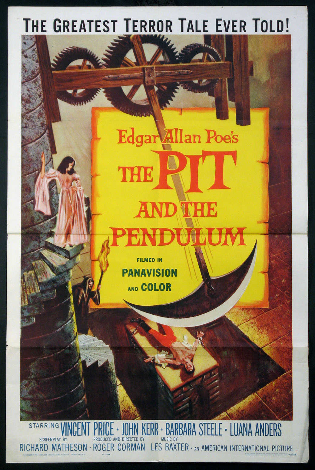 PIT AND THE PENDULUM @ FilmPosters.com