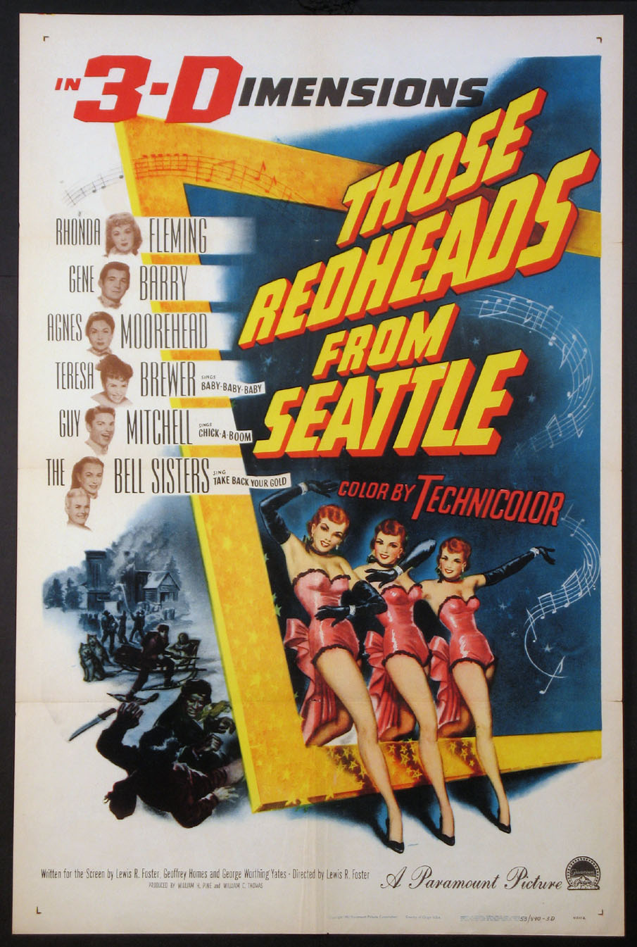 THOSE REDHEADS FROM SEATTLE @ FilmPosters.com