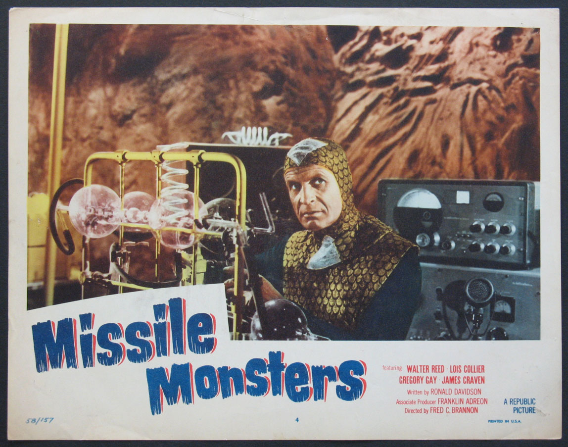 MISSILE MONSTERS @ FilmPosters.com