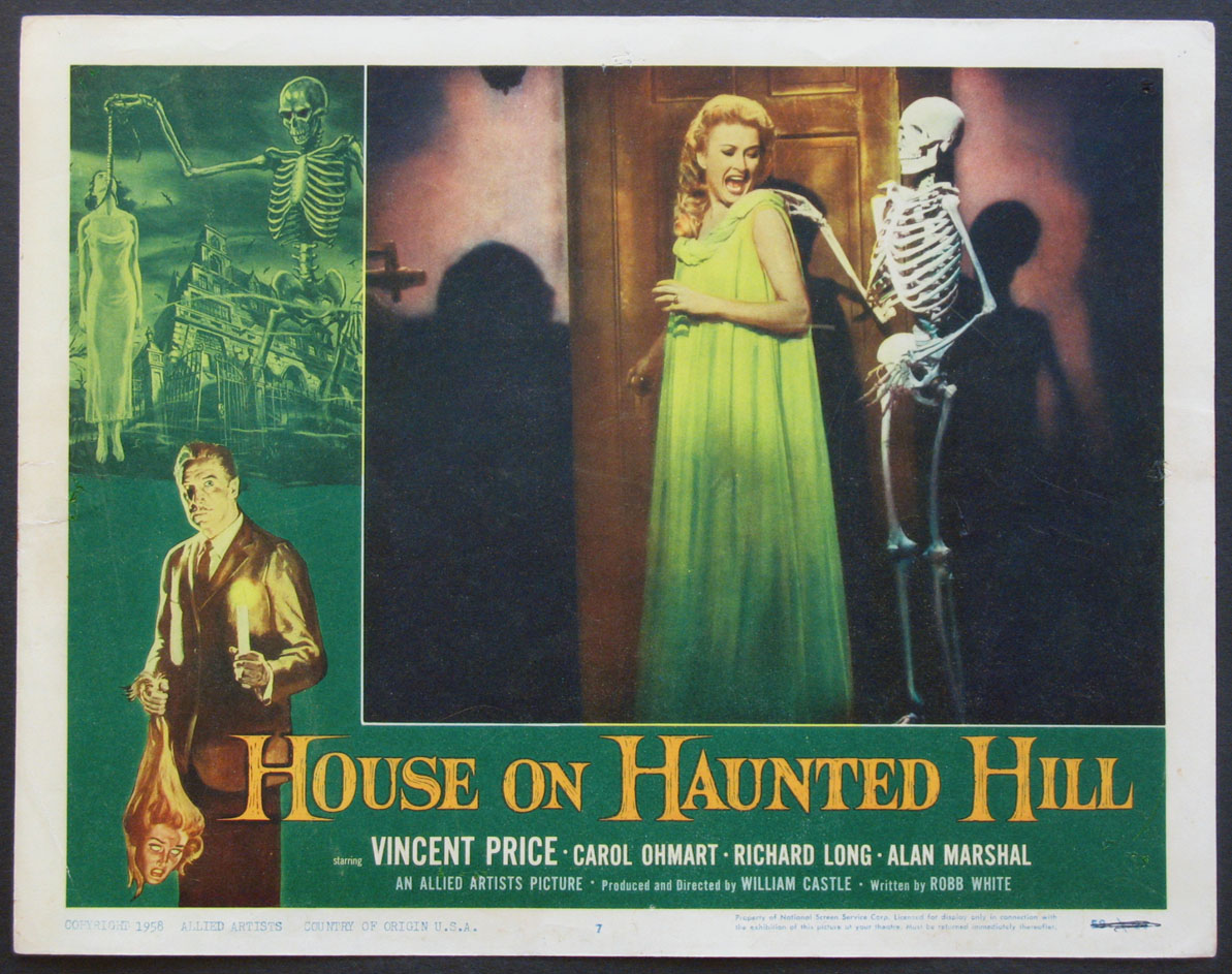 HOUSE ON HAUNTED HILL @ FilmPosters.com