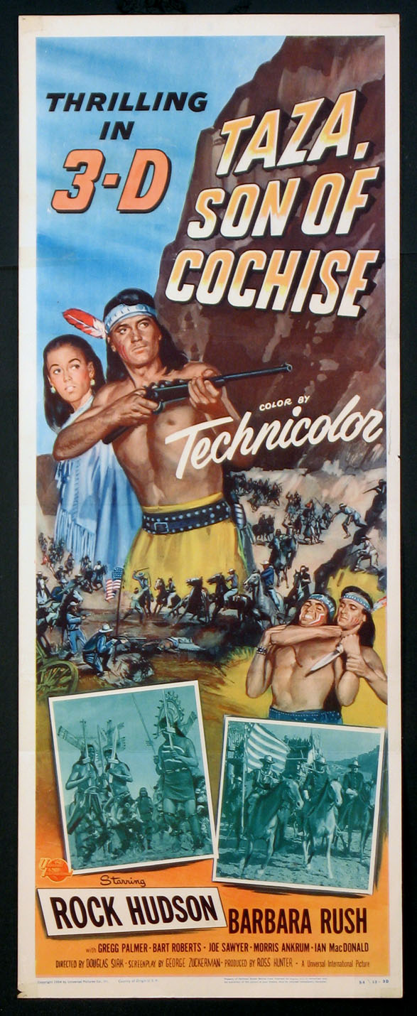 TAZA, SON OF COCHISE @ FilmPosters.com