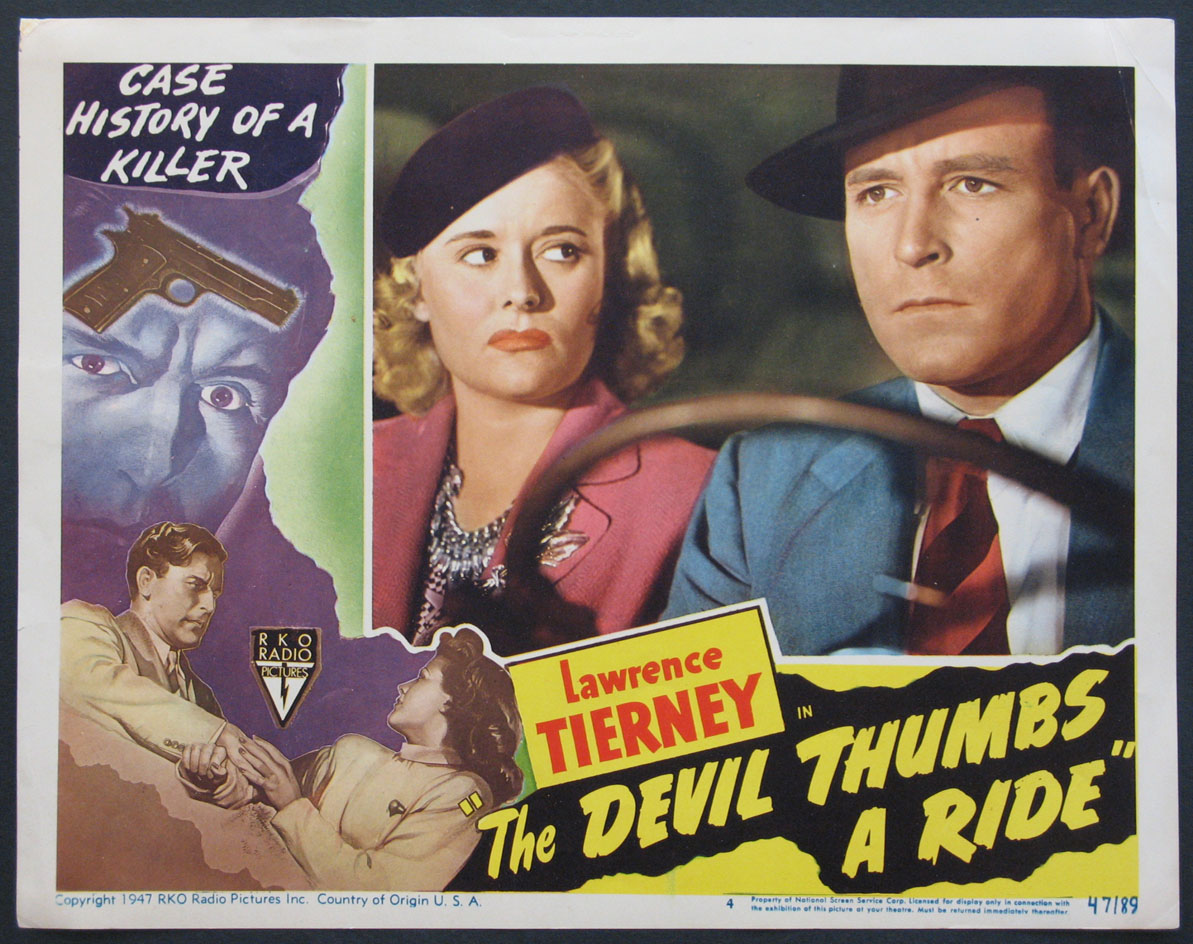 DEVIL THUMBS A RIDE, THE @ FilmPosters.com