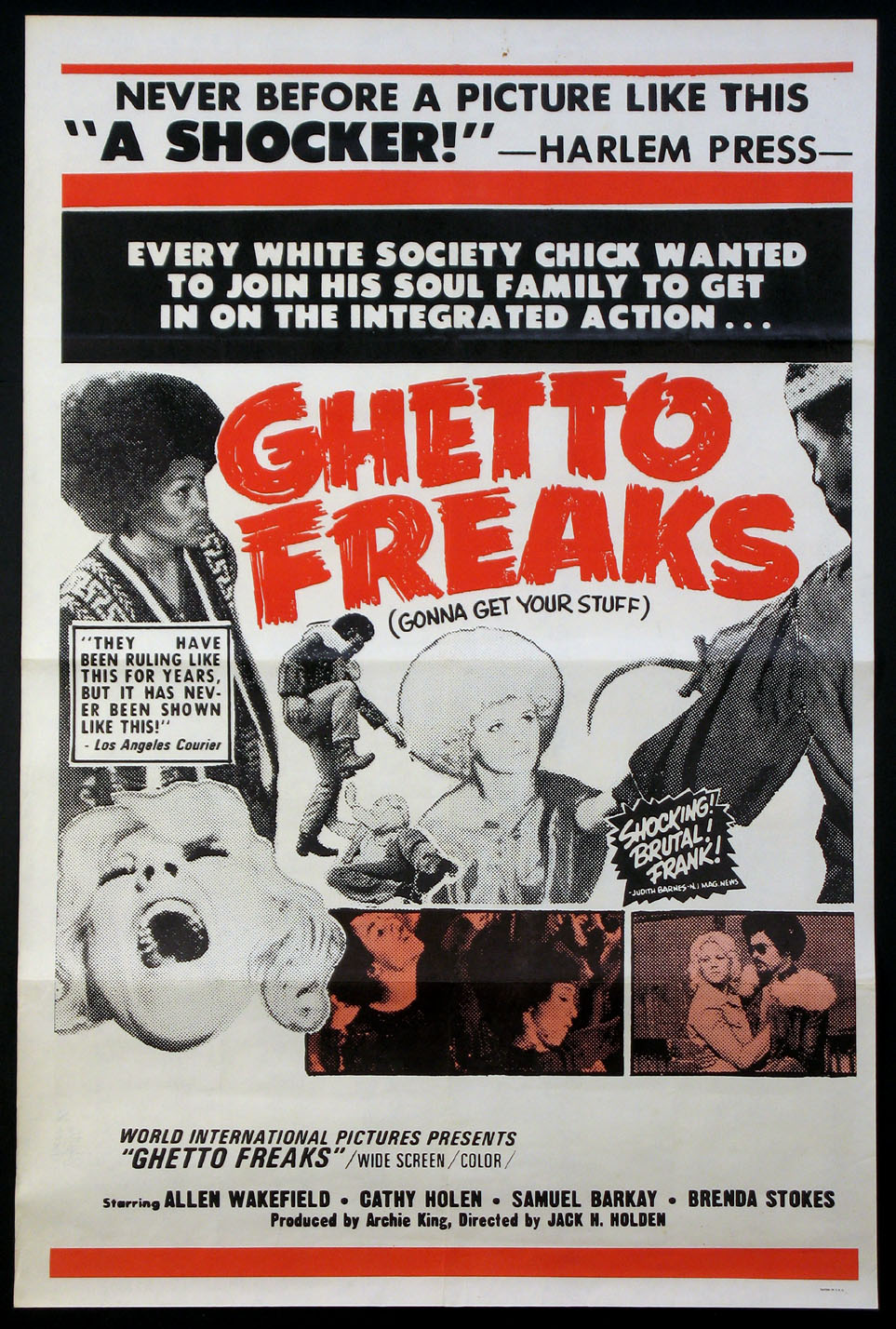 GHETTO FREAKS @ FilmPosters.com