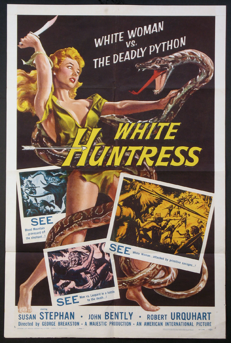 WHITE HUNTRESS @ FilmPosters.com