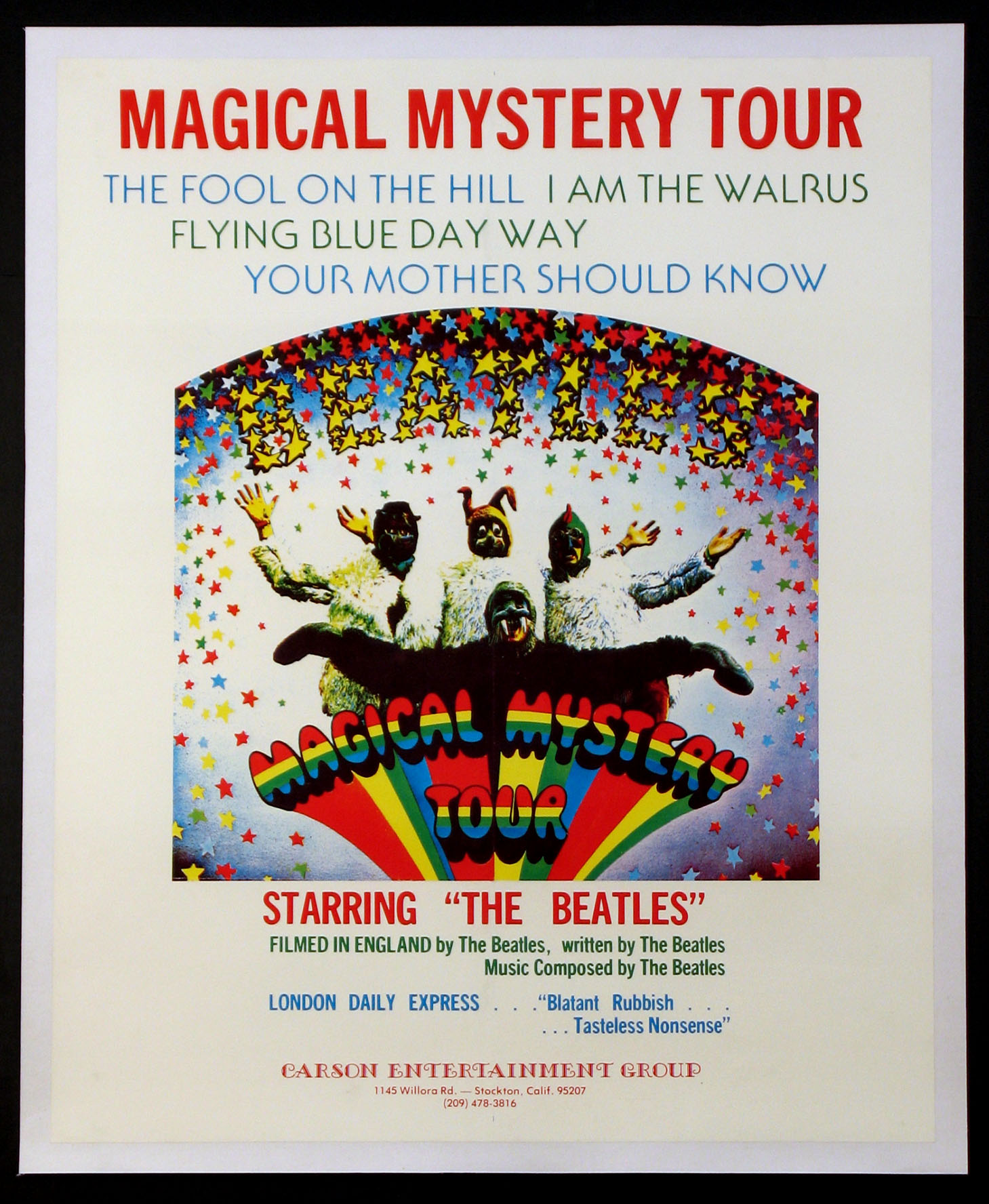 MAGICAL MYSTERY TOUR @ FilmPosters.com