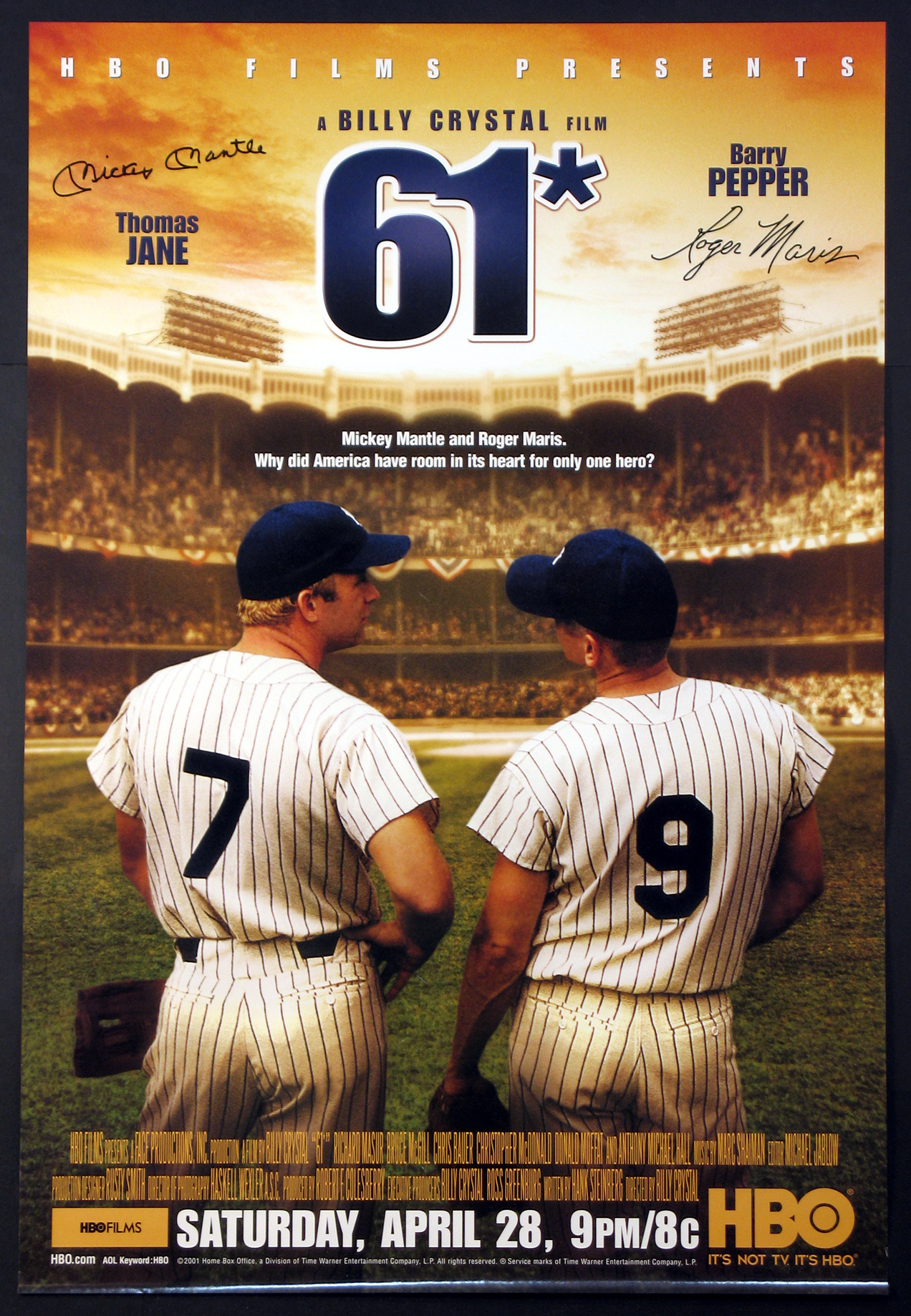 61 (61* SIXTY-ONE) @ FilmPosters.com