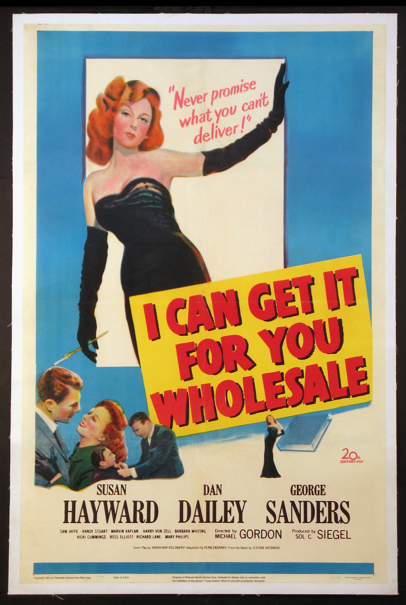 I CAN GET IT FOR YOU WHOLESALE @ FilmPosters.com