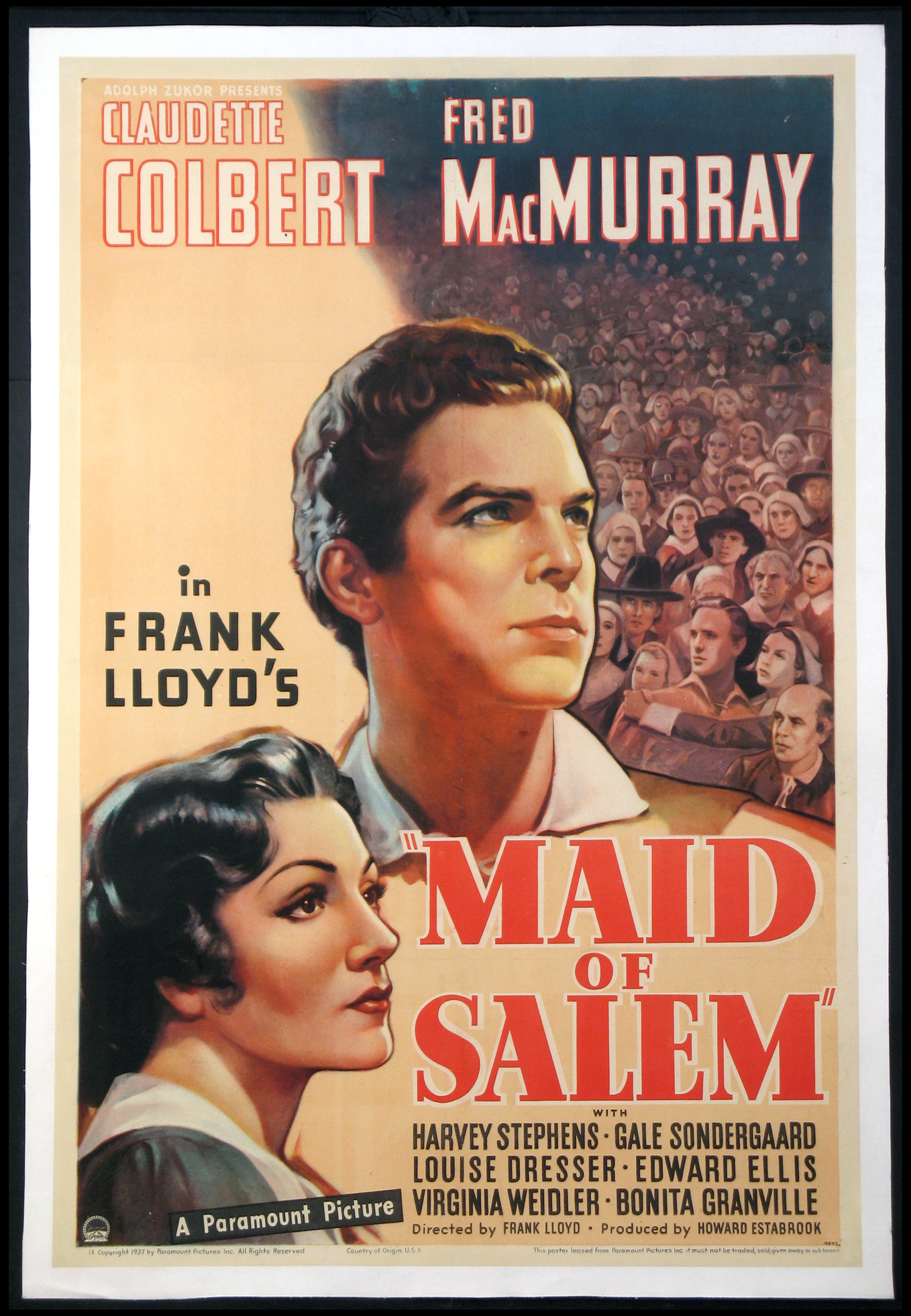 MAID OF SALEM @ FilmPosters.com