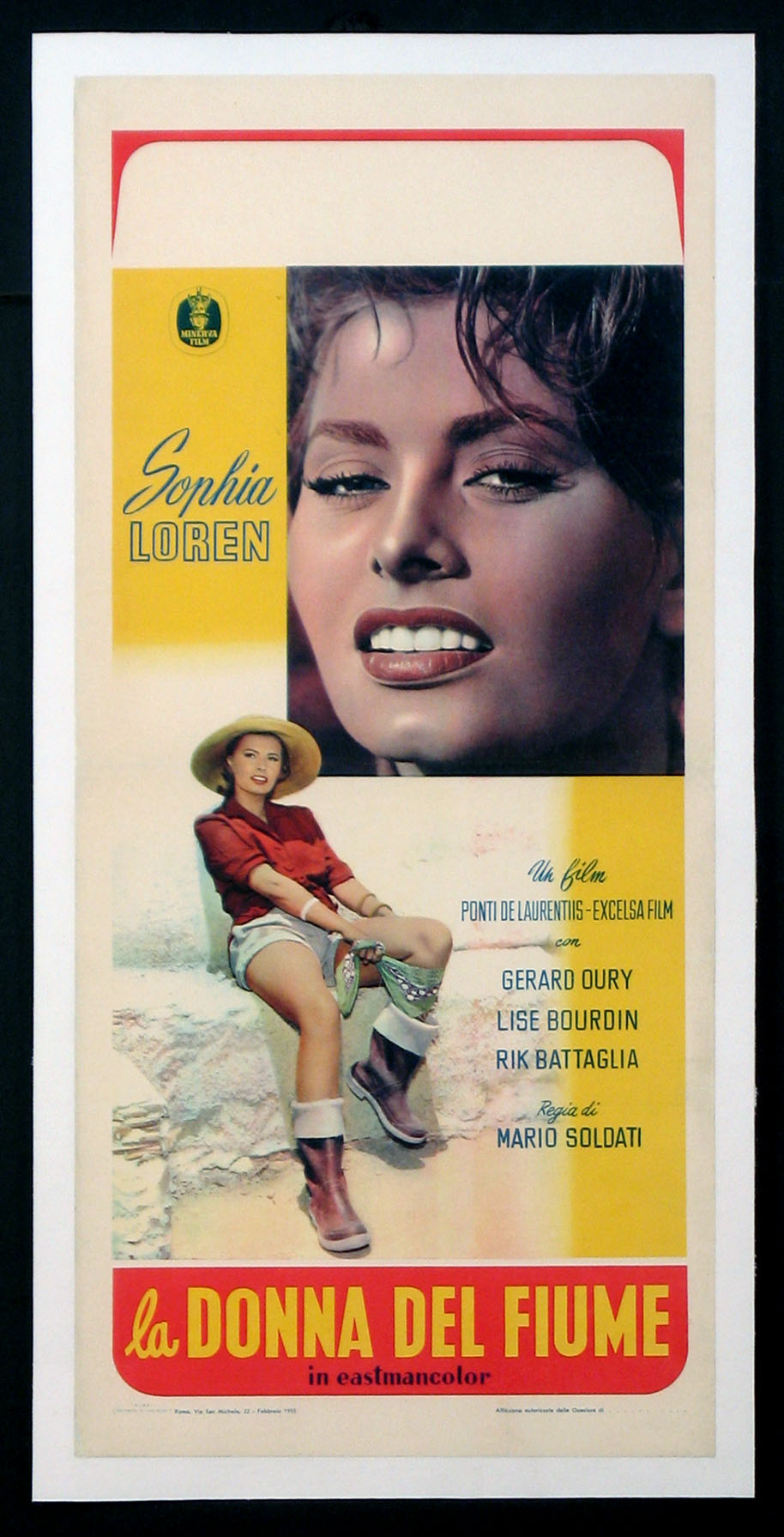 WOMAN OF THE RIVER (La Donna del Fiume) @ FilmPosters.com