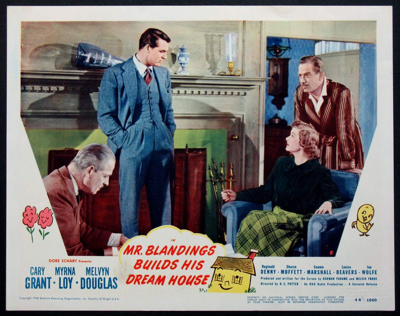 MR. BLANDINGS BUILDS HIS DREAM HOUSE Movie Poster (1948)