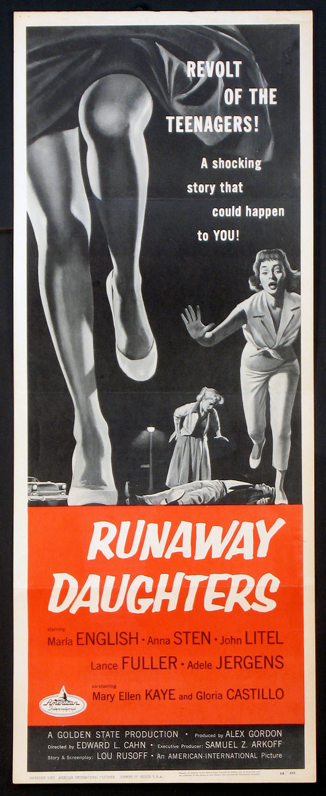 RUNAWAY DAUGHTERS @ FilmPosters.com