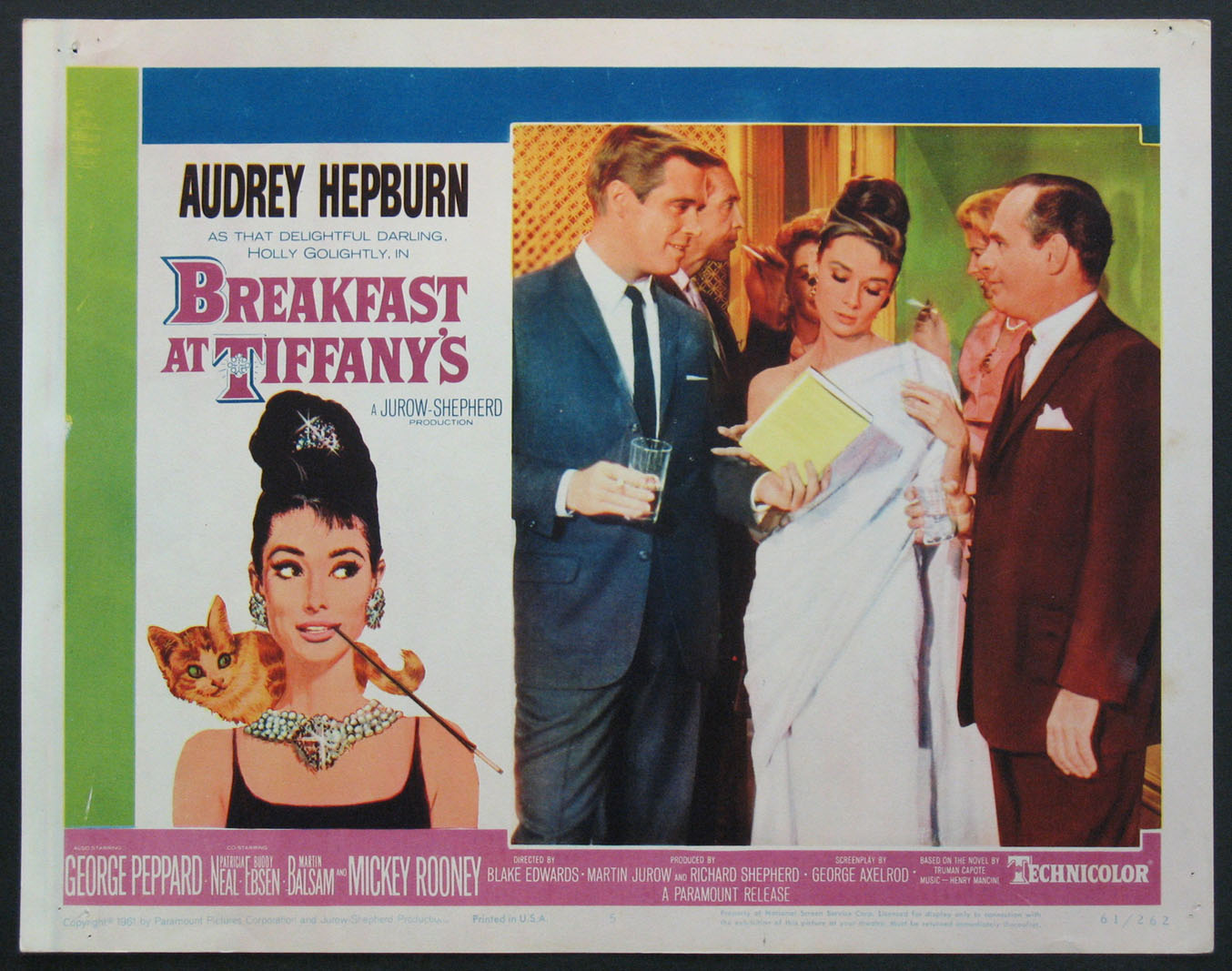 BREAKFAST AT TIFFANY'S (Breakfast at Tiffanys) @ FilmPosters.com