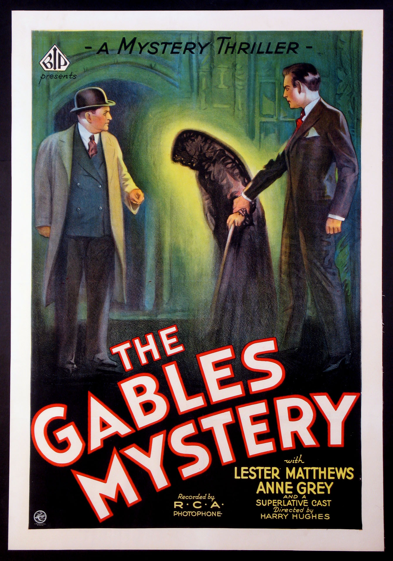 GABLES MYSTERY, THE (aka The Man at Six) @ FilmPosters.com