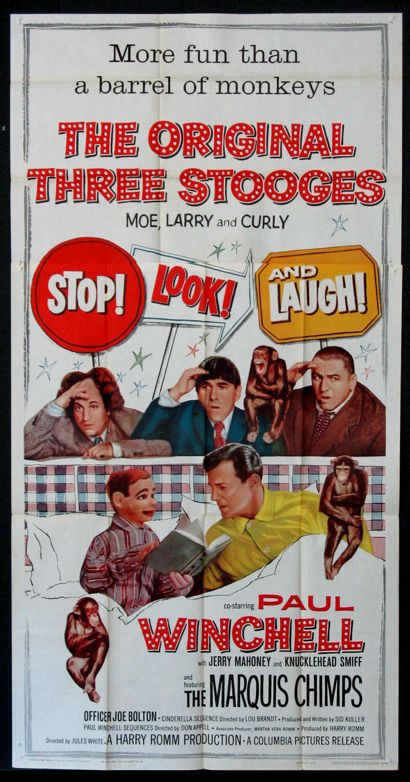STOP LOOK AND LAUGH @ FilmPosters.com